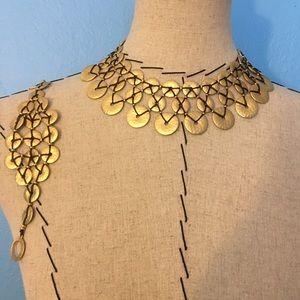 ✨Ralph Lauren cleopatra necklace and bracelet